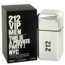 212 VIP by Carolina Herrera 1.7oz/50ml Edt Spray For Men New In Box