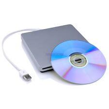 External USB Slot Load CD DVD RW ROM Drive Writer Burner For desktop Laptop MAC