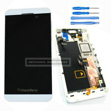 For Blackberry Z10 4G LCD Touch Screen Digitizer Display Frame White Assembly UK