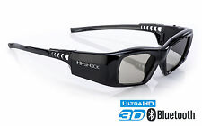 "Hi-shock ® ""Black Diamond"" gafas 3d para Sony & Sharp TV 's comp. con ssg-3570 CR"