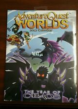 ADVENTURE QUEST WORLDS CALENDAR 2012 SEALED WITH THE CHRONOCORRUPTOR PROMO CODE