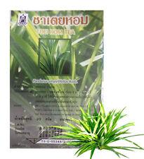 200 bagsHerbs Herbal Tea Toei hom Pandan Leaves Fresh Refreshed Natural Drink