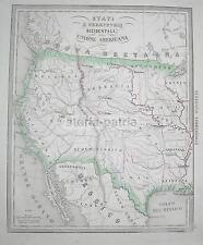 AMERICA DEL NORD_CALIFORNIA_OREGON_NEBRASCA_TEXAS_MESSICO_ARKANSAS_MISSURI_IOVA