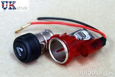 Red Cigarette lighter PLUG & SOCKET for Ford Fiesta Focus Mondeo Escort New
