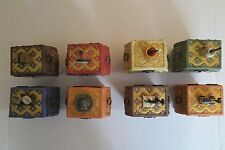 Complete Set of Charles Wysocki's Purr-fect Places Music Boxes #1 through #8