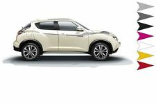 Nissan Juke (2014  ) Side Stripes / Flash - White (99998-86030)