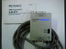 Used Keyence LG-C1 Laser Gauge PNP Converter with Cable