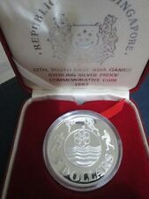 1983 12th South East Asia Games Sterling Silver Proof $5 Coin