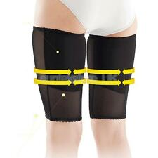1 Pair Compression Tight Thigh Leg Brace Support Slimming Slimmer Wraps L