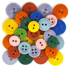 Jesse James Buttons ~ Dress It Up ~ COLOR MY WORLD~ ROUND SEWING BUTTON
