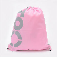 Girls Boys Drawstring Swim Sportswear Shoe Dance Bags Schoolbags Backpack Gym G