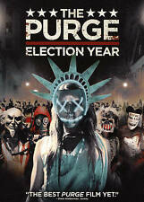 The Purge: Election Year (DVD, 2016) FREE FIRST CLASS SHIPPING
