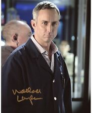 AUTOGRAPHE SUR PHOTO 20 x 25 de Wallace LANGHAM (signed in person)