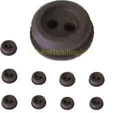 2 Hole Rubber Grommet For String Trimmer Lawn mower Chainsaw Fuel Tank 10PCS