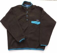 NWT Patagonia Men's Synchilla Snap-T Fleece Pullover Jacket, Size: L, Java Brown