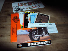 2002 Harley Davidson Sportster xl 1200 883 Owners Manual 02 Free Ship to USa
