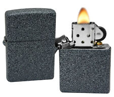 Zippo Lighter 211 Iron Stone Windproof Classic Theme NEW