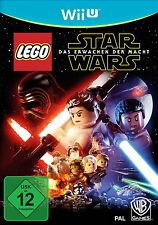 WII U SPIEL LEGO STAR WARS DAS ERWACHEN DER MACHT WIE NEU