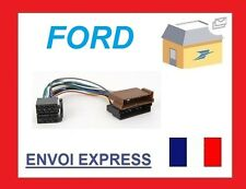 ISO WIRING HARNESS AUTORADIO FORD KA FIESTA ESCORT QUALITE SUPERIEURE NEW NEUF