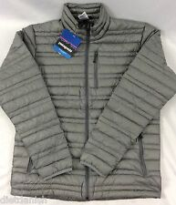 Patagonia Men's Jacket Ultralight Down Hoody SLIM FIT Alpine Climbing Grey XS