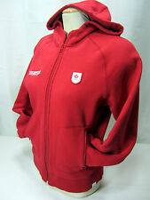 Hudson Bay Co.Canada  2006 Olympic Red Men's S Full Zip Hoodie Fleece Lined