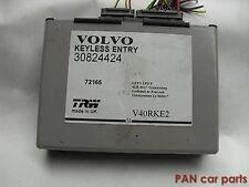 Vovlo V40 Steuergerät Keyless enty 30824424, 72165, TRW, V40RKE2