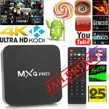 NEW PREMIUM ANDROID 4k TV BOX WITH LATES VERSIONS OF ADD-ONS 16.1 INSTALLLED