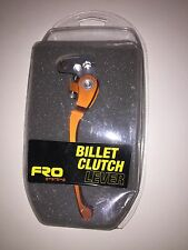 Fro Systems Fold Back Flex Clutch Lever Orange Kawasaki Suzuki (RRP £38)