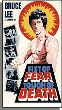 Fist of Fear, Touch of Death - New Bruce Lee Martial Arts VHS Video!