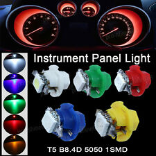 10X T5 B8.4D Ice Blue Dashboard Instrument Speed LED Light Bulb Lamp 12V Replace