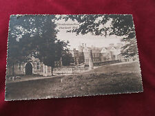 "OLD POSTCARD, "" STRATFORD - ON - AVON  CHARLECOTT HALL ""."