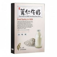 *NEW*[LOVEMORE] PEARL BARLEY&MILK SMOOTHING FACE Mask SHEET 5pcs/1box