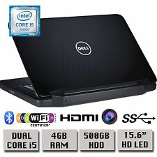 "Dell Inspiron 15 3520 15,6 ""HD Notebook Intel Core i5 4GB RAM 500GB HDD WINDOWS 7"
