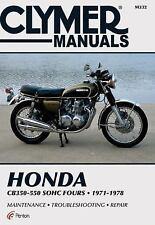 Honda 350-550cc Fours 72-78 (Clymer Manuals: Motorcycle Repair), Penton Staff