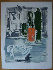 "ROBERT CALIX (1919/2008) Acrylique  -"" NATURE MORTE  """