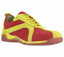 Birkenstock-Footprints Riga 38N L7 M 5Red/Yellow Veloursleather