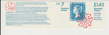 GB QEII MNH FOLDED Stamp Booklet FN6A POSTAL HISTORY # 7 POSTMARK COLLECTING