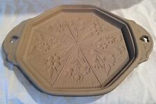 BROWN BAG COOKIE ART FLOWER COOKIE MOLD SHORTBREAD MOLD 1988 HILL DESIGN