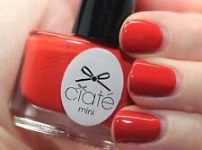 1 Brand New Ciate Mini Nail Polish ENCORE #PP161 DEEP ORANGE FINGERNAIL POLISH