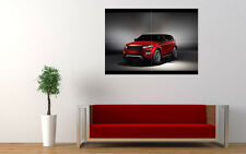 2012 RANGE ROVER EVOQUE RED NEW GIANT LARGE ART PRINT POSTER PICTURE WALL