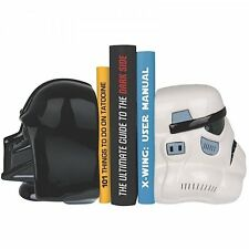 Star Wars DARTH VADER and STORMTROOPER BOOKENDS - Pair of CERAMIC BOOKENDS