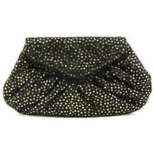 Lauren Merkin Diana Suede Evening Bag Women Black Evening Bag NWOT