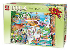 1000 Piece Funny Comic Cartoon Capers Jigsaw Puzzle - ROCKY MOUNTAINS WIDE 05189