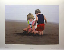"GLENN OLSON ""BEACH BUMMERS"" Mint LTD art print Certificate SEA COAST SAND SUN"