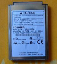 Toshiba 60GB MK6006GAH Disk Drive Fujitsu Q2010 P7230 P7120 P1610 FMV-BIBLO T70