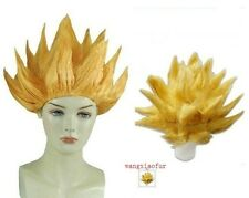 Gold yellow Cosplay Costume Wig Dragon Ball Z Goku Hair Wig Promotion