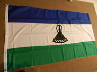 LESOTHO FLAG FLAGS 5'X3' POLYESTER BRAND NEW
