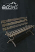 1/6 Scalestore P0008 Park Bench Chair in Brown for 1:6 Scale Figure Accessories