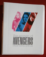 Official trading card storage binder-the women of the avengers + base set