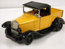 Vintage Japan Tin Litho Bandai Ford Model A Pickup Friction Powered Truck